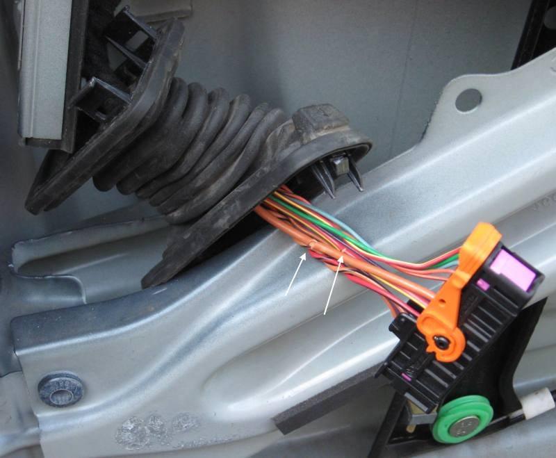 Broken driver's side door wiring harness on 2006 Jetta | VW TDI forum,  Audi, Porsche, and Chevy Cruze Diesel forumMy Turbo Diesel