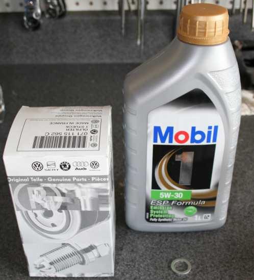 vw golf oil type