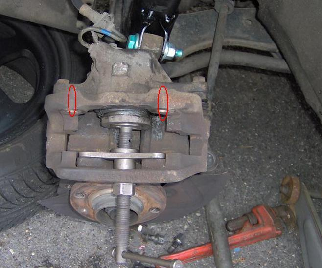 ... brake, rotor, and brake pad DIY on Volkswagen Jetta and Passat