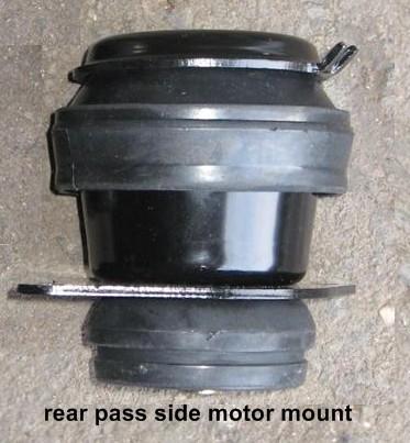 Motor mount replacement: mk3 VW Passat TDI or VW Jetta TDI