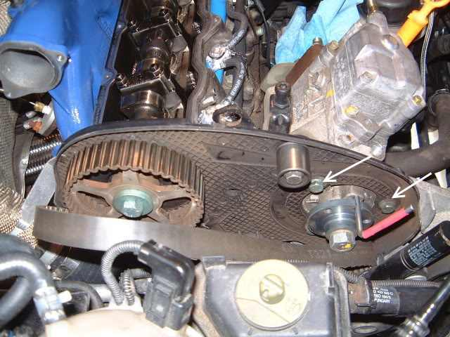 injection pump removal without timing belt replacement: TDI