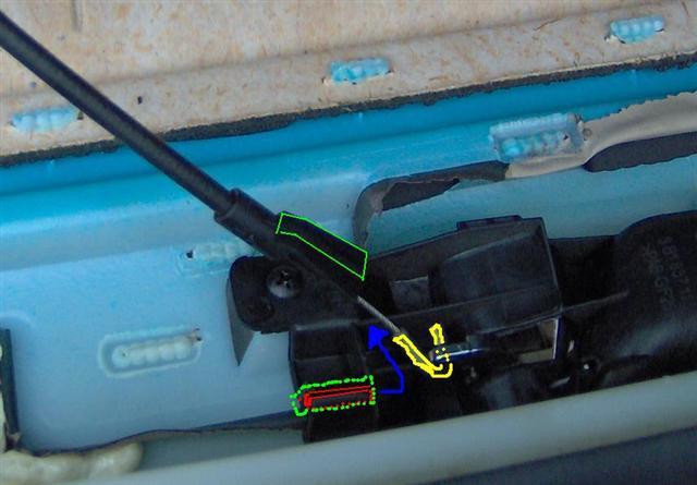 Door latch release cable - home fix? - TDIClub Forums