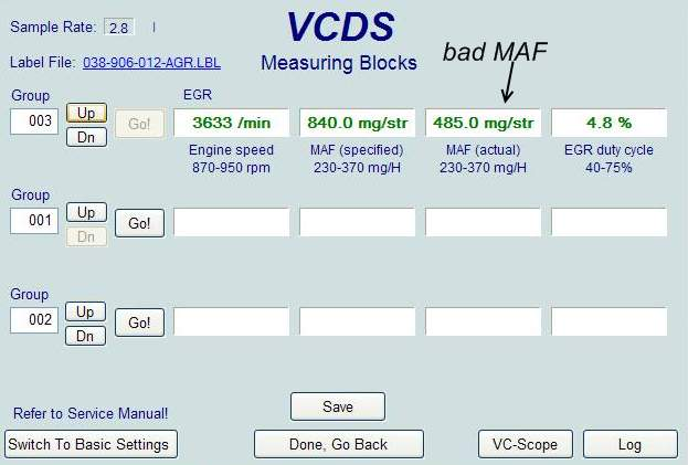 MAF sensor FAQ, troubleshooting, and replacement for VW and