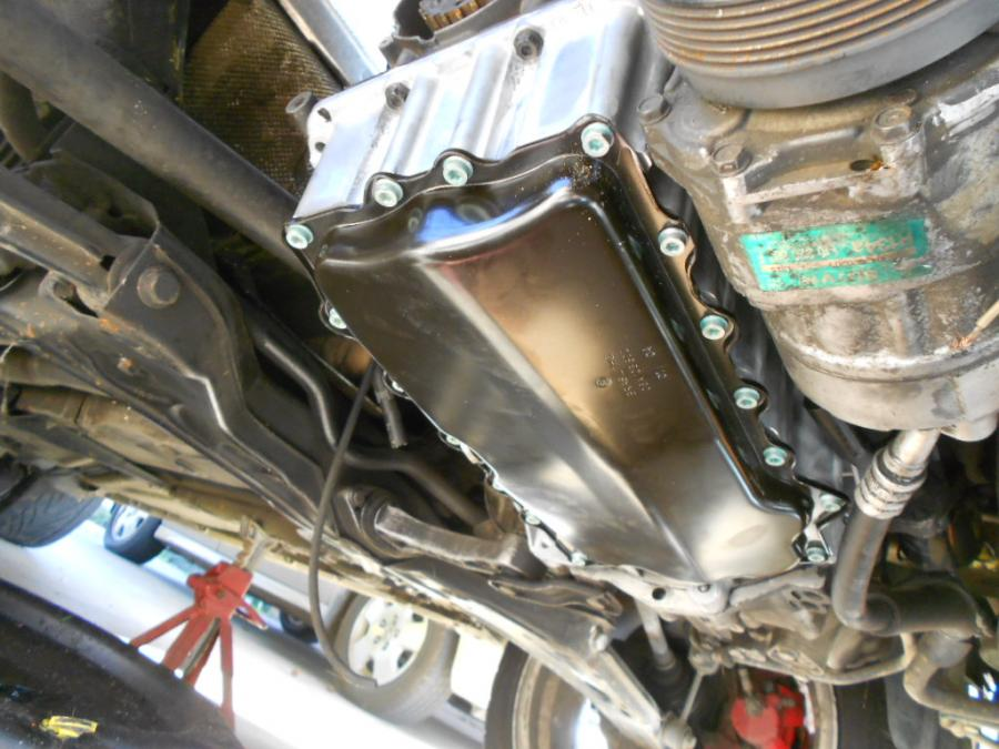 Oil Pan Removal And Hybrid Oil Pan Installation Mk4 Vw Tdi Engine