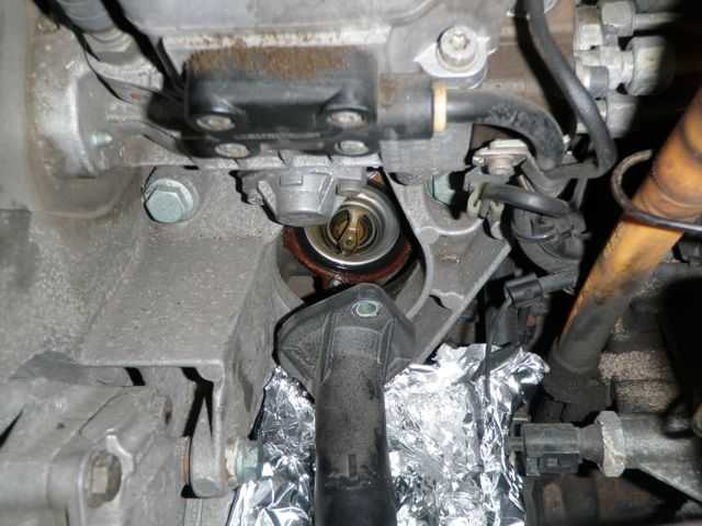 Thermostat And Coolant Temperature Sensor Removal Replacement Rhmyturbodiesel: 2001 Jetta 2 Liter Thermostat Location At Elf-jo.com