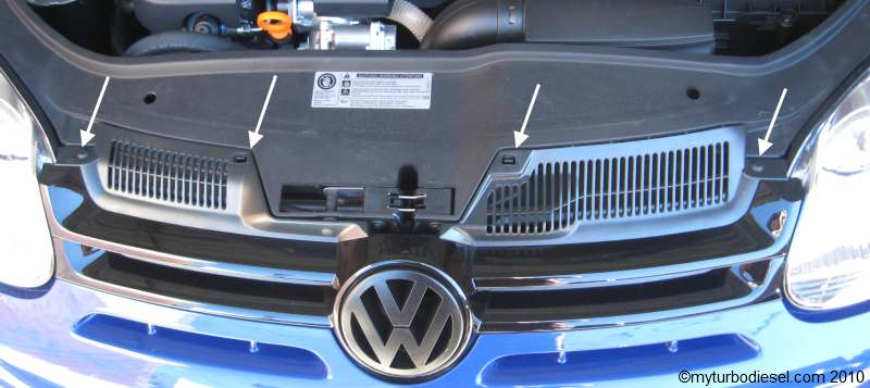 tdi cup edition front grille blackout