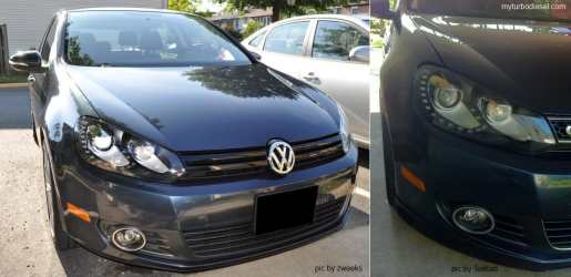 2012 golf tdi led drl hid