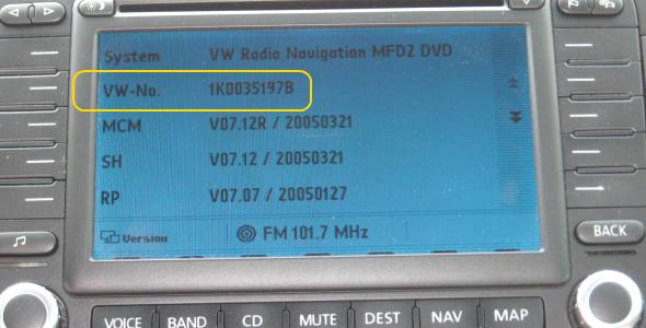 MFD2 firmware update for North American VW | VW TDI forum