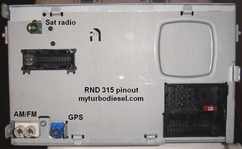 RNS510, RNS315 GPS, or RCD510 installation in a mk5 VW | VW