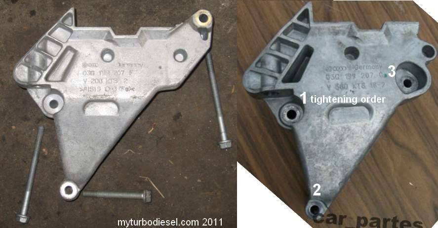 2006 jetta tdi engine mount