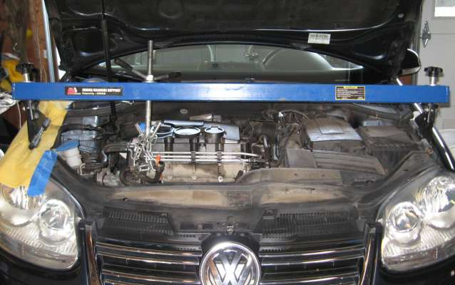 vw jetta tdi engien support