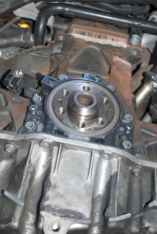 rear main oil seal engine speed sensor replacement on a mk5 vw rh myturbodiesel com 2007 Ford Taurus Manual 2007 Audi A4 Custom