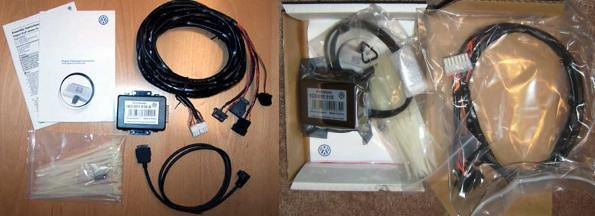OEM vw isa ipod kit