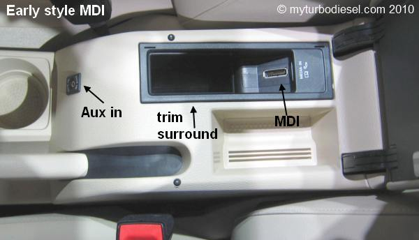 vw mdi adapter ipod