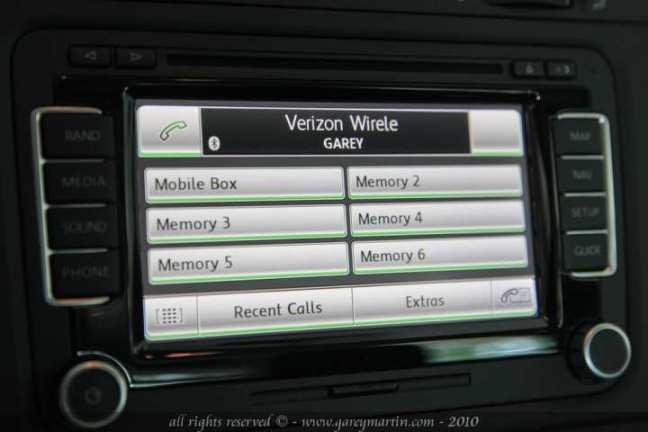 rns 510 bluetooth menu