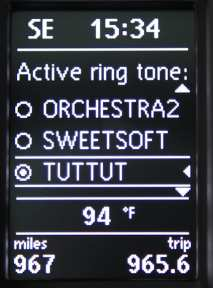 vw bluetooth ring tone