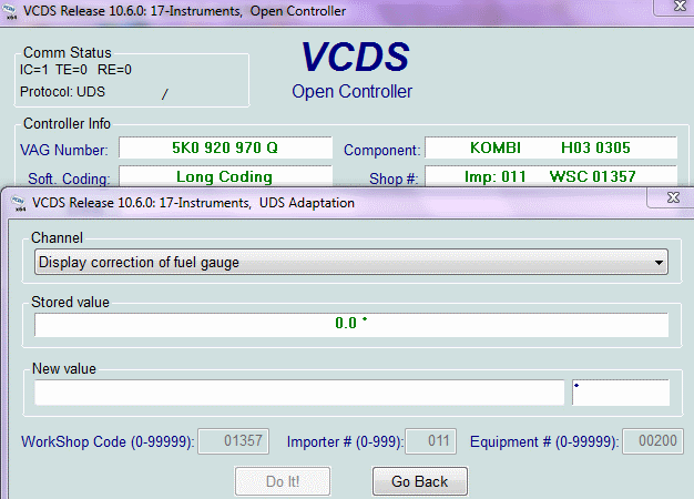 Mpg gauge correction and adjustment - mk5, mk6 VW | VW TDI