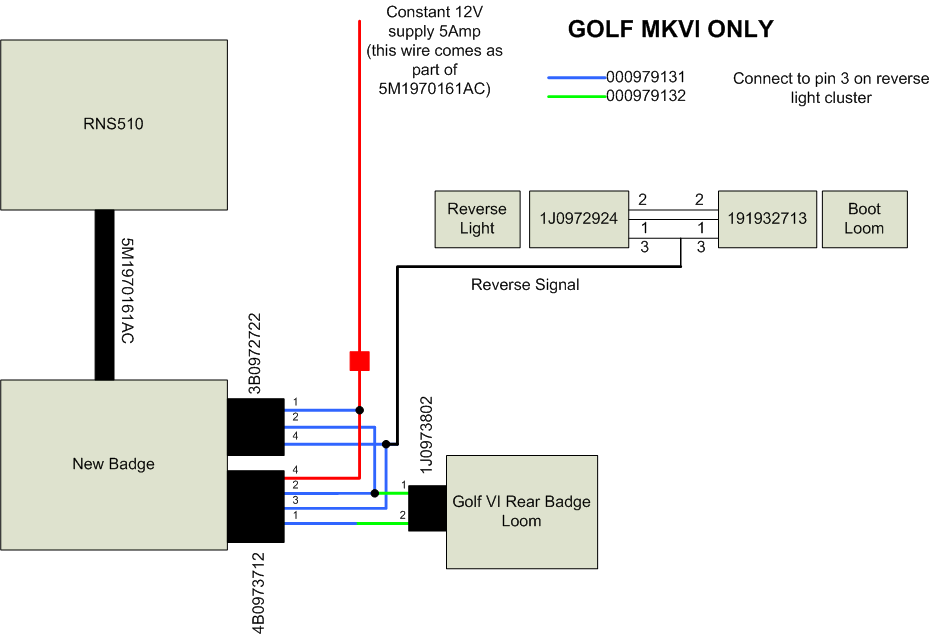 golf backup camera wiring 3 vw golf mk6 wiring diagram engine wiring diagram \u2022 wiring diagrams motorhome reversing camera wiring diagram at gsmportal.co