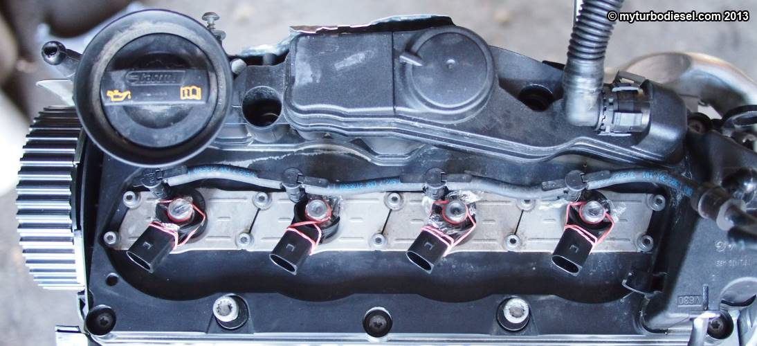 Fuel injector and valve cover removal - CJAA/CBEA 2.0 TDI engine ...