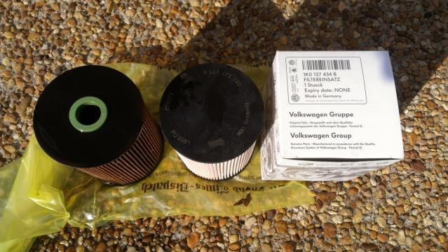 2010 VW Golf TDI (type #3) fuel filter removal and