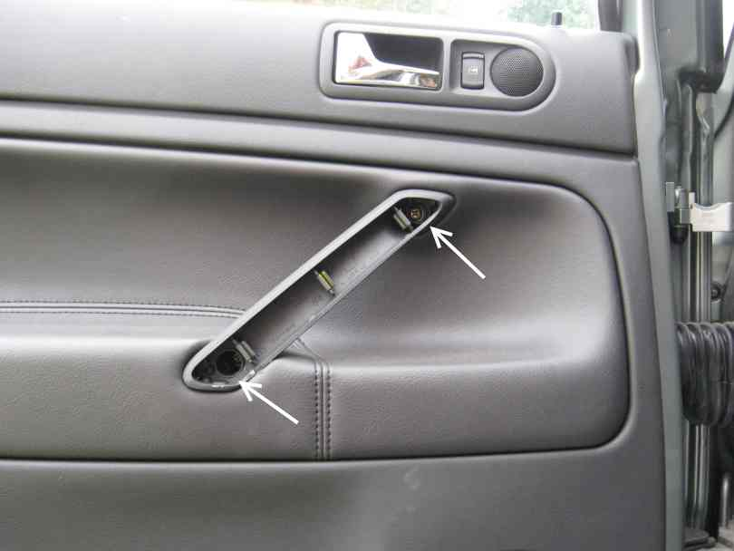 Door cards, side view mirror housings, or window switch removal- B5 ...