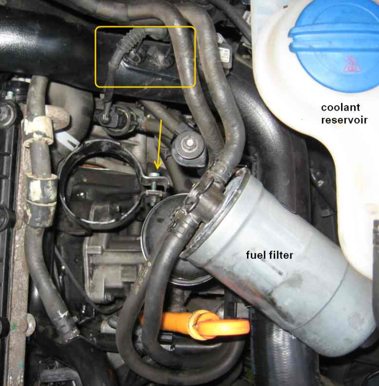 Fuel Filter Replacement20042005 Vw Passat Tdi Bhw Forum