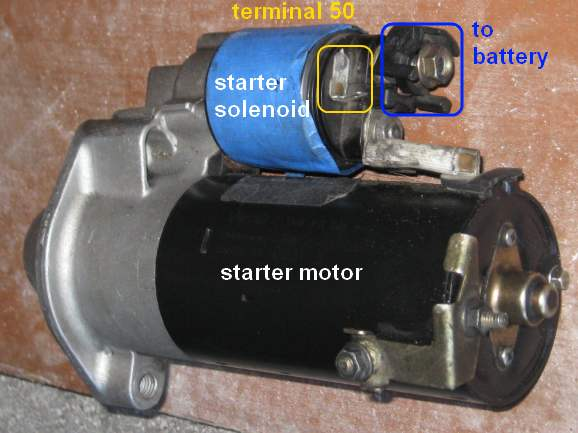 starter1 starter testing and removal b5 passat tdi vw tdi forum, audi vw starter wiring diagram at fashall.co