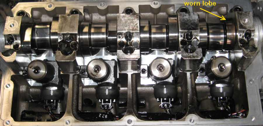 Camshaft lobe wear inspection and replacement on TDI PD