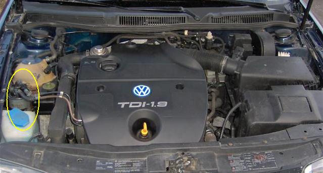 [ img] draining the fuel filter on vw tdi