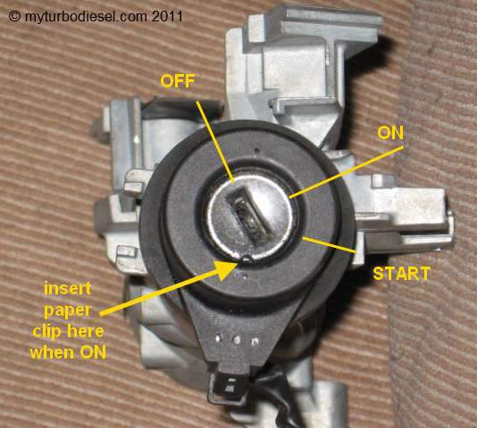 vw ignition switch