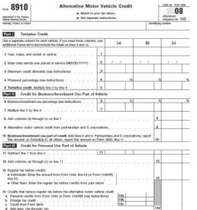 Tax Credit Amounts For Tdi