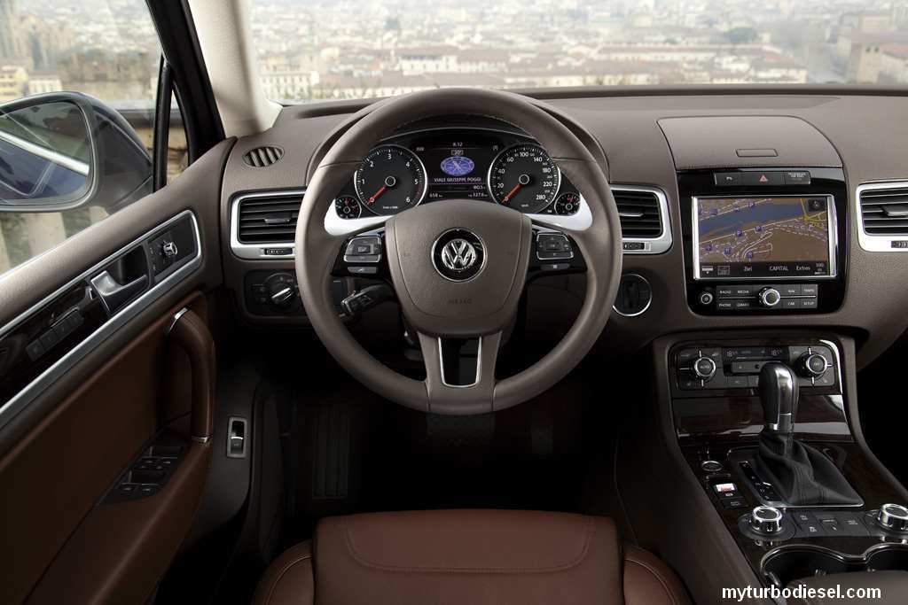 There Will Be A V8 Touareg Tdi In Europe But Are No Engine Option For North America All Gas And Sel Engines Longer Have Physical Dipstick