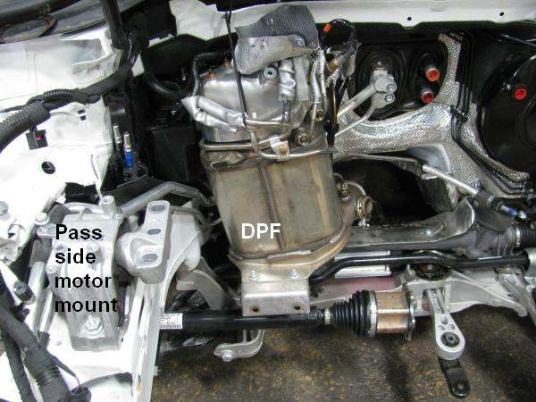 VW Audi DPF filter regeneration with DPF problems like