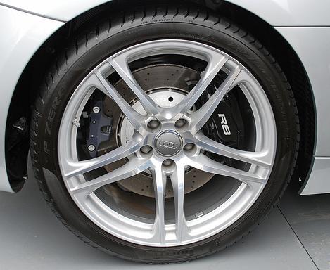 Audi r8 tire size